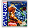 Wizards & Warriors x Fortress Of Fear Nintendo Game Boy Fridge Magnet Calamita