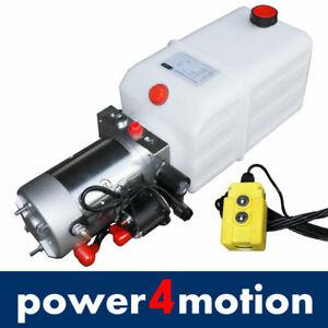 Hydraulik Pumpe, Hydraulikaggregat 12 V Volt 180 bar 2000W LKW, Kipper, Anhänger