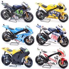 #46 Bicicleta Rossi MotoGP Yamaha Yzr-m1 Motocicleta Diecast Modelo 1:18 escala Racer
