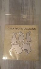 Gina Marie designs metal cutting dies - Bunny rabbits - Bunnies