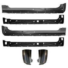 Inner & Outer Rocker Panel & Extended Cab Corner Kit for 07-13 Chevy GMC Pickup