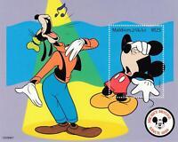 281748 / Block ** MNH  Walt Disney Musik