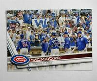 2017 Topps #72 Chicago Cubs - NM-MT