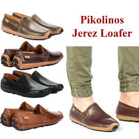 Pikolinos Men/'s NEW San Lorenzo Slip-On Leather Oxford Shoes Comfort Loafers