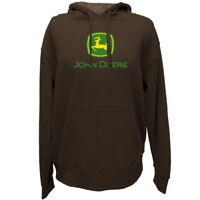 John Deere Hoodie Sweatshirt, John Deere Men's Sweatshirt, 13020000. NWT.Brown