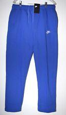 Nike Sportswear Club Fleece Sweatpants Blue White BV2707-430 Men's NEW