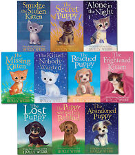 Holly Webb Series 2 Puppy and Kitten Stories Pet Rescue Adventure 10 Books Set