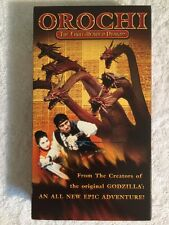 Orochi the Eight-Headed Dragon (Prev. Viewed VHS) EXTREMELY RARE! HTF!