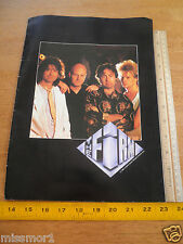 The Firm 1985 concert tour program Paul Rodgers Jimmy Page
