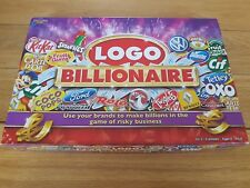 LOGO BILLIONAIRE BOARD GAME *100% COMPLETE* 8+ 2-6 players, with instructions