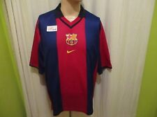 "FC Barcelona Original Nike Heim Trikot 2000/01 ""ohne Hauptsponsor"" Gr.L Neu"