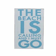 The Beach is Calling Plaque