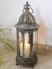 Grand Style Antique Métal Lanterne Bougeoir Maison Mariage 61 cm