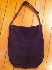 Desmo brown suede hobo bag made in Italy