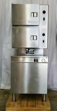 Cleveland 24-Cgm-200 Natural Gas 6 Pan Convection Food Steamer with Boiler Base