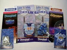 DISNEYLAND 60TH LOOKING FOR MICKEY QUEST 2015 BOTH PARKS LANYARDS W SURPRISE NEW