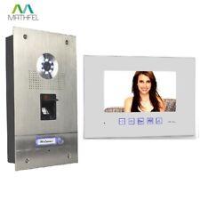 Fingerprint Türsprechanlage mit 7″ Monitor