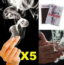 5PC Adorable Finger - Smoke Magic Trick Magic Illusion Stage Close-Up Stand-Up
