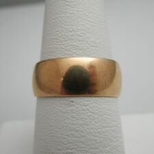 d883 Gorgeous 14k Yellow Gold Wedding Band