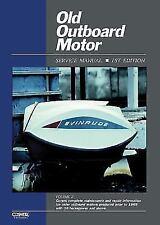 1957-1969 30 HP&Up Outboard Repair Manual Gale Scott Sea Bee King Homelite Sears