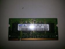 Ram soddr2 per notebook DDR2 512mb Samsung 2Rx16 PC2-4200S-444-12-A3 usata funz.