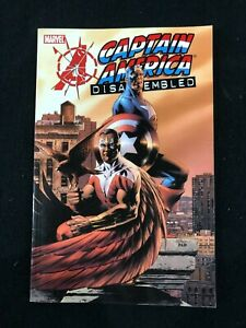 Avengers Disassembled Captain America Graphic Novel Softcover Comic Book