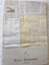 Yves DELORME CAPRICE SATIN STANDARD PILLOWCASE PALACE COLLECTION LUXURY