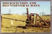 BOUD DEUN Fiction and Several Days CASSETTE U.S. Prog Rock