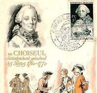 CQ176 FRANCE Philately 1949 STAMP EXHIBITION *General Choiseul* Maxi-Postcard