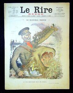 Journal Le RIRE Rouge, édition de guerre N°13 du 13/2/1915