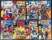 FORCE WORKS 1994 #1 TO 22 COMP. NM-- IRON MAN LED TEAM,SCARLET WITCH,WONDER MAN