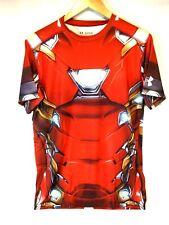 UNDER ARMOUR Men's UA Alter Ego Iron Man Compression Shirt 1273694 625 Size XL