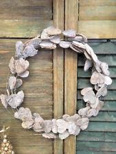 Natural Wooden Birch Bark Heart Wreath Hanging Christmas Wedding Decoration
