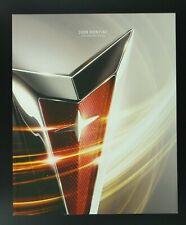 2009 Pontiac Full Line Dealer Sales Brochure Solstice G8 G6 G5 Vibe Torrent 09