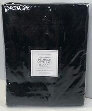 Restoration Hardware Vintage-Washed Diamond Matelasse King Sham Black $79