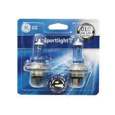2 X H4 Halogen Light Bulbs Ultra Plus 50% Sportlight Xenon Ge Genuine 60/55w