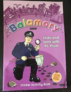 Balamory : HIde & Seek with PC Plum - Sticker Activity Book RARE Brand New