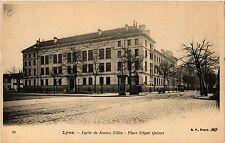 CPA Lyon-Lycée de Jeunes Filles, Place Edgar Quinet (427199)