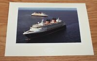 Genuine Walt Disney Cruise Line Uncharted Magic Voyage Post Card Only *READ*