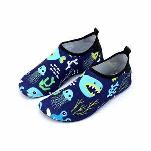 Toddler Kids Boys Girls Water Shoes Aqua Socks Diving Pool Beach Swim Surf UK