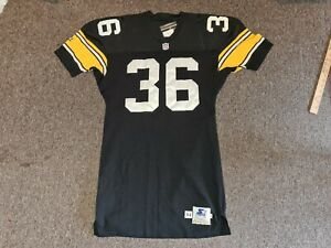 Pittsburgh Steelers #36 Team Used 1994 Starter Authentic Home Football Jersey 46