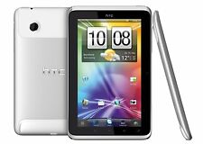 HTC FLYER p512 WHITE SILVER 16gb WIFI ANDROID TABLET BIANCO ARGENTO