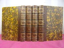 CHRONIQUES PITTORESQUES DE L'OEIL DE BOEUF Comtesse de B*** 4/4 vols 1845