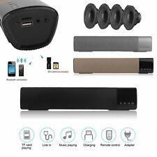 Soundbar Bluetooth Sound Bar Speaker System Support TF Card For TV Home 3 Qm
