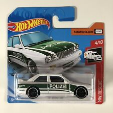 Hot Wheels 2020 '92 BMW E30 M3 Short Card HW Rescue Polizei