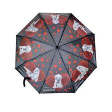 Regenschirm Schirm,transparent,Pfoten,Hund,automatik