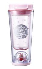 "Starbucks KOREA 2017 Christmas Rudolph waterball tumbler 355ml ""Rudolph Figures"""