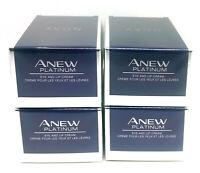 4 x AVON Anew Platinum Eye and Lip Cream 15ml - 0.5oz SET !