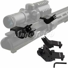 Aukmont Front Rear Tactical 45 Degree Offset Backup Iron Sight Rapid Transition