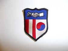 b5602 US Korean War era Civil Affairs Command patch R8E